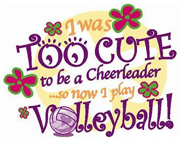 volleyball: Funny Volleyball Sayings, My Life, Volleyball Quotes, So True, Volleyball Players