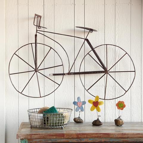 Bike wall hanging