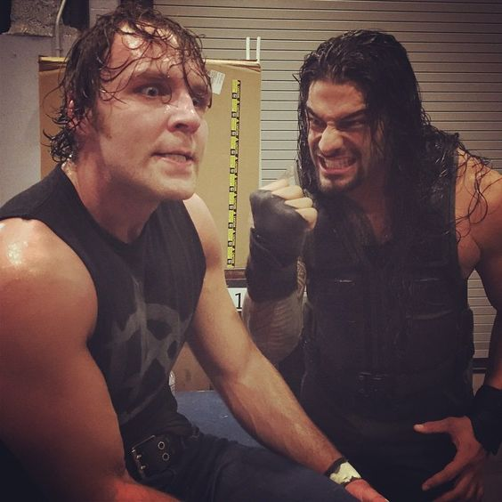 """ROMAN REIGNS and DEAN AMBROSE ride together again! #SmackDown"""