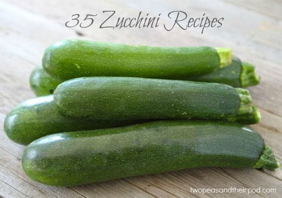 35 Zucchini Recipes from @Maria (Two Peas and Their Pod)