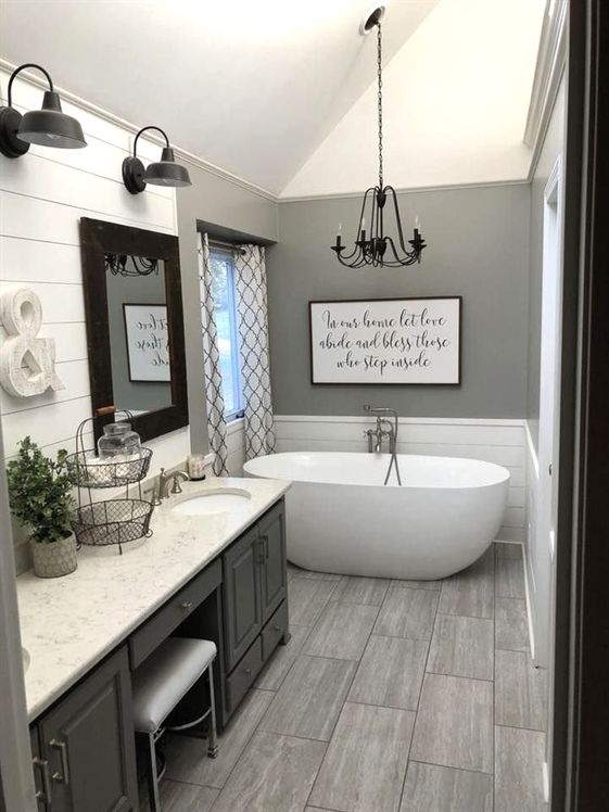 Common Bathroom Remodel Tool Free Paid Bathroom Remodel Master Farmhouse Bathroom Decor Bathrooms Remodel