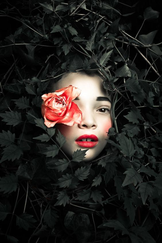 Persephone by Max Eremine series of photos revolving around the Goddess of Vegetation.