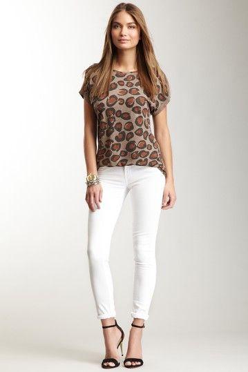 White Skinny Jean by Twenty8Twelve on @HauteLook