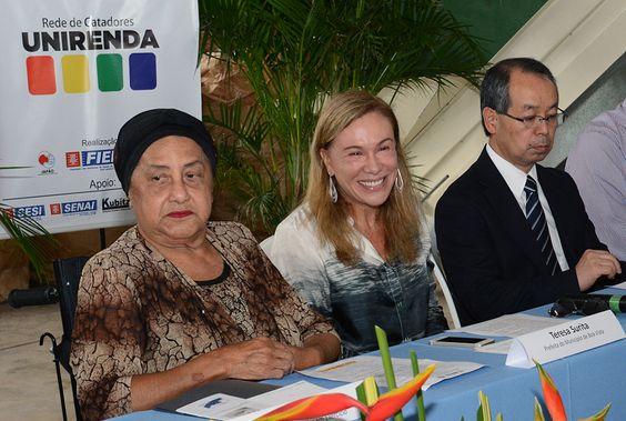 Teresa Surita participa da instalação da Usina de Reciclagem e Renda de Roraima #teresasurita #boavista #usinareciclagem #roraima