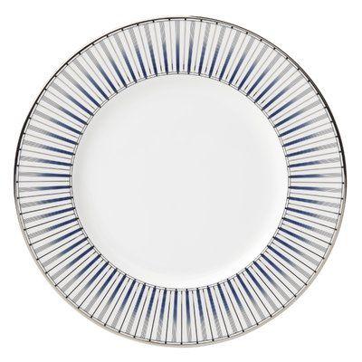 """Lenox Geodesia 9"""" Salad Plate"""