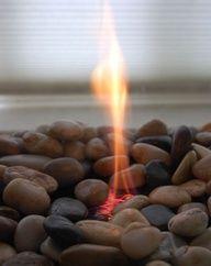 DIY modern mini fire pit (for back porch)