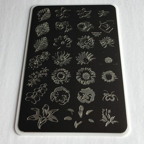 Clear Jelly Stamper- Full On Floral (CjSLC-16)