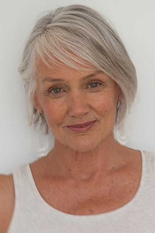 Swell Bobs Grey And Search On Pinterest Short Hairstyles Gunalazisus