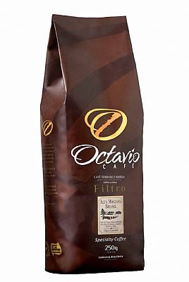 Octavio Café Torrado e Moído 250g - Moagem para Coador