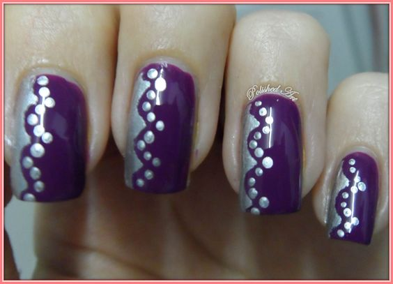 Polished Art: 31 Day Challenge - Day 6: Violet: