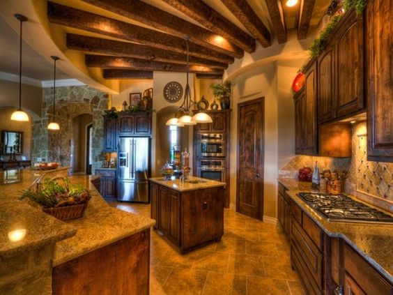 Kitchens Layout and In love on Pinterest
