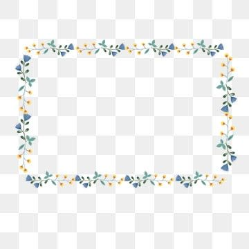 Border Texture Hand Drawn Plants Flowers And Frame Plant Border Border Png And Vector With Transparent Background For Free Download How To Draw Hands Flower Background Design Flower Drawing
