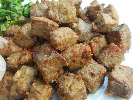 Arnavut Ciğeri, Higado picado frito, Turquía