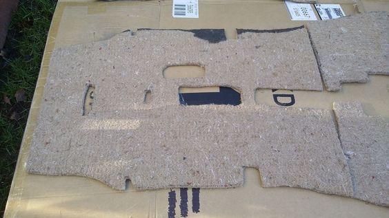 Datsun 240z interior insulation jute kit