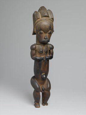 Maestro de Ntem. Relicario guarda la figura (Eyema-o-Byeri) , a mediados de 18 al siglo 19. Madera, hierro, 23 x 5 7/8 x 5 pulg. (58,4 x 14,9 x 12,7 cm). Museo de Brooklyn, Frank L. Fondo Babbott, 51,3. Creative Commons-BY (Foto: Museo de Brooklyn, 51.3_PS1.jpg)