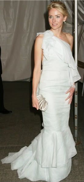 Naomi Watts in Calvin Klein, Met Ball 2005