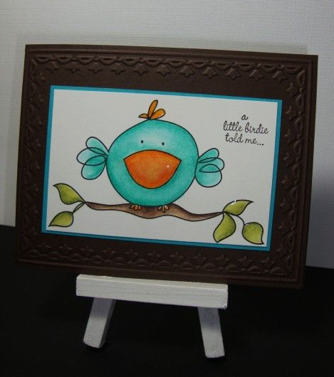 A little birdie told me digital from Lisa Lara @ Clear Dollar Stamps