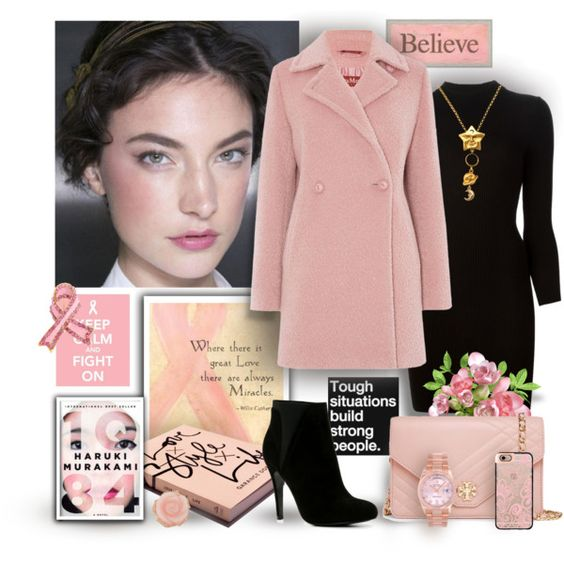 Believe, Keep Calm & Fight On by mary-gereis on Polyvore featuring moda, Maison Margiela, MaxMara, ALDO, Tory Burch, Rolex, Bling Jewelry, Irene Neuwirth, Casetify and Garance Doré