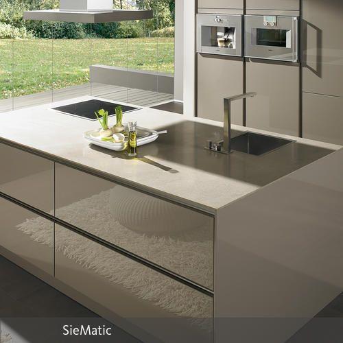 SieMatic S2 Von den Erfindern der grifflosen Küche 1960er - brillante kuchen ideen siematic