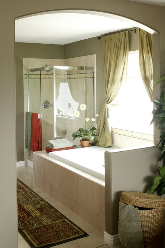 Hot Trends For A Boring Bathroom | Window treatments ...