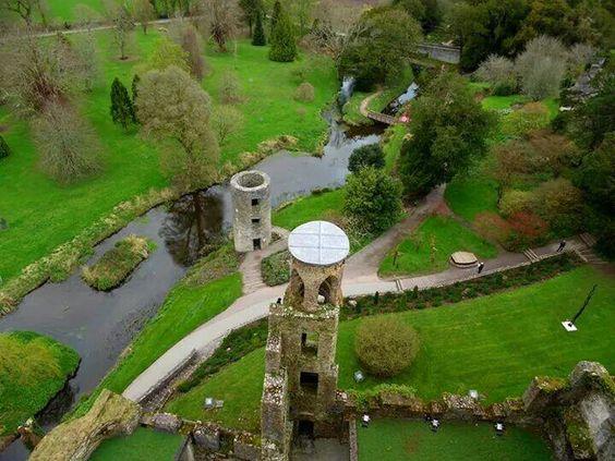 Photo atop Blarney Castle!