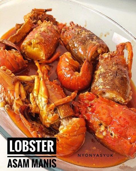Lobster Asam Manis Masakan Resep Lobster Resep Masakan