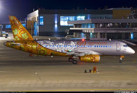 Aeroflot 90 years Sukhoi Superjet 100-95 @ SVO