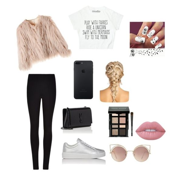 """""""Untitled #99"""" by beach-life18 on Polyvore featuring Winser London, Prada Sport, Yves Saint Laurent, MANGO, Bobbi Brown Cosmetics and Lime Crime"""