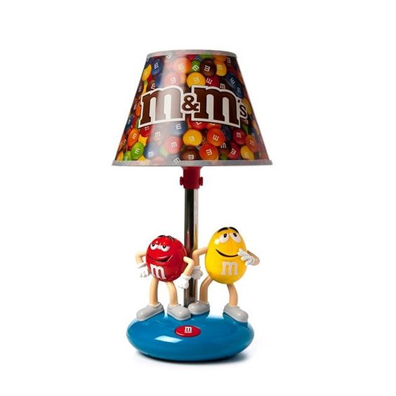 M10DL8-M&Ms M10DL8 Table Lamp W/Night Light & Yellow/Red M&M Characters On Base (MEGA M10DL8) | RetailStores.com | Online Shopping for Home, Office & Outdoors and so much more