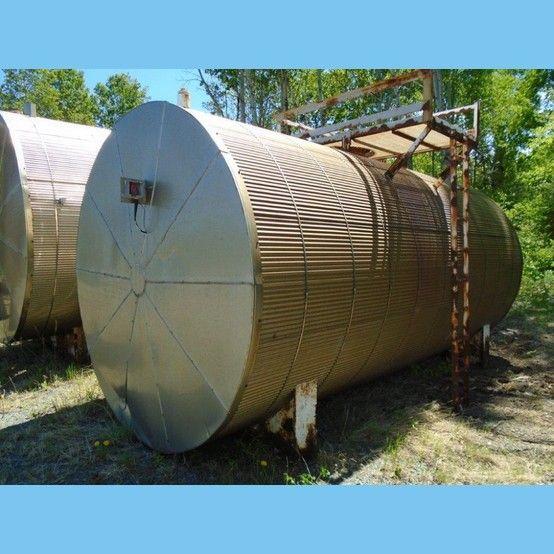 Savona Equipment Sells 8 Ft Dia X 20 Ft Long Steel Tank Savona Steel Tank
