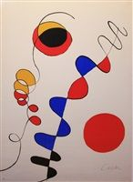 Untitled #7 by Alexander Calder