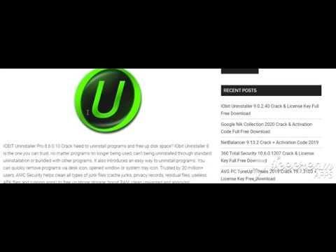Iobit Uninstaller 9 0 2 40 License Key Full Free Download Free Download Youtube Download