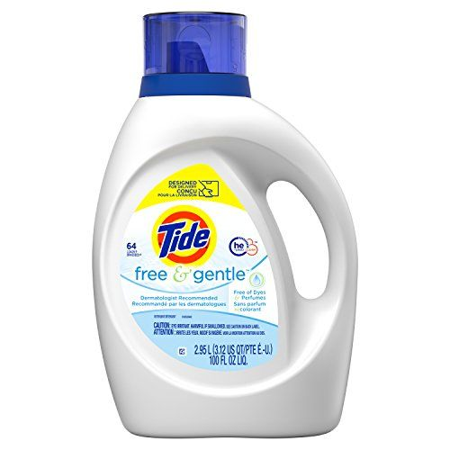Tide Free And Gentle Liquid Laundry Detergent 100 Oz Only 9 99