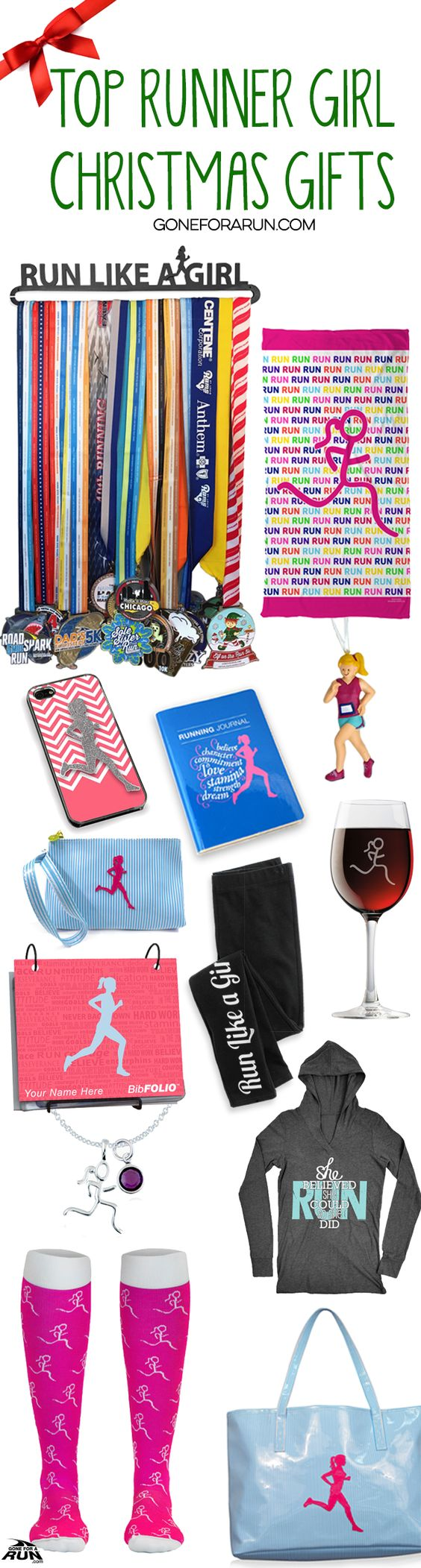 If you're a runner girl and proud of it, you won't want to miss our awesome collection of Runner Girl gear! Stay cozy with a nice pair of leggings and a performance hoodie, or go to the beach with a towel and our Kali tote bag! Whatever suits your fancy, get it here at GoneForARUN.com