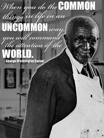 Black history month quotes, washington carver and