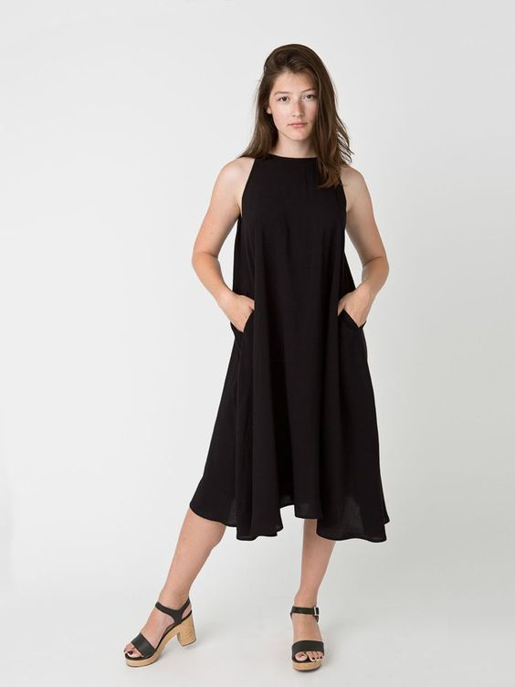 Pin for Later: Man kann es wieder wagen, American Apparel zu kaufen American Apparel Kleid Rayon Challis Tent Dress ($82)