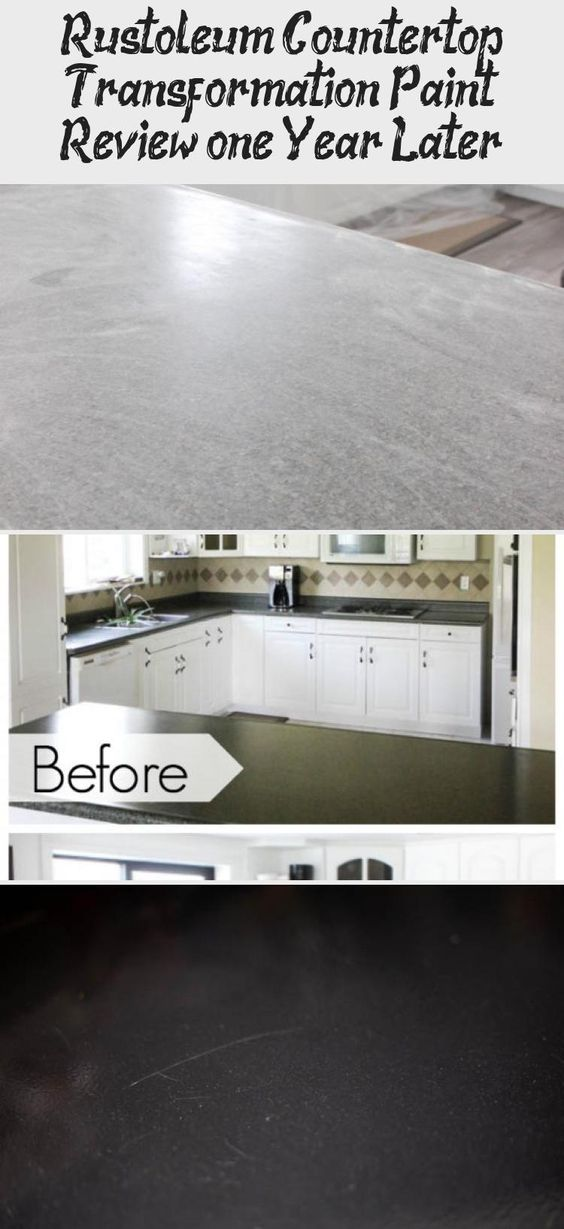 Rustoleum Countertop Transformation Paint Review One Year Later