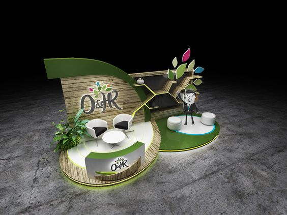 O&HR BOOTH - 2018 on Behance