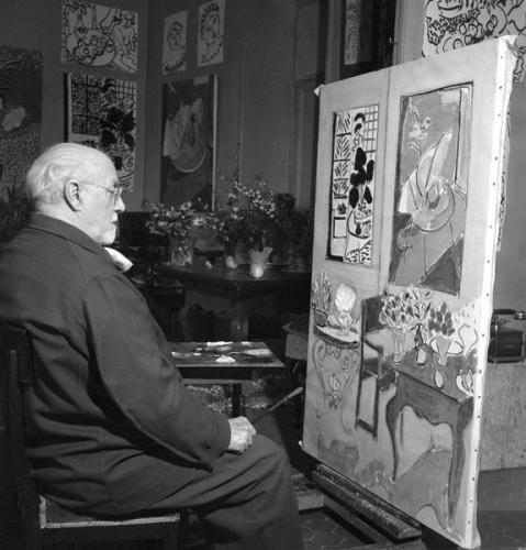 L'évènement Dans l'atelier de Matisse - Centre Pompidou
