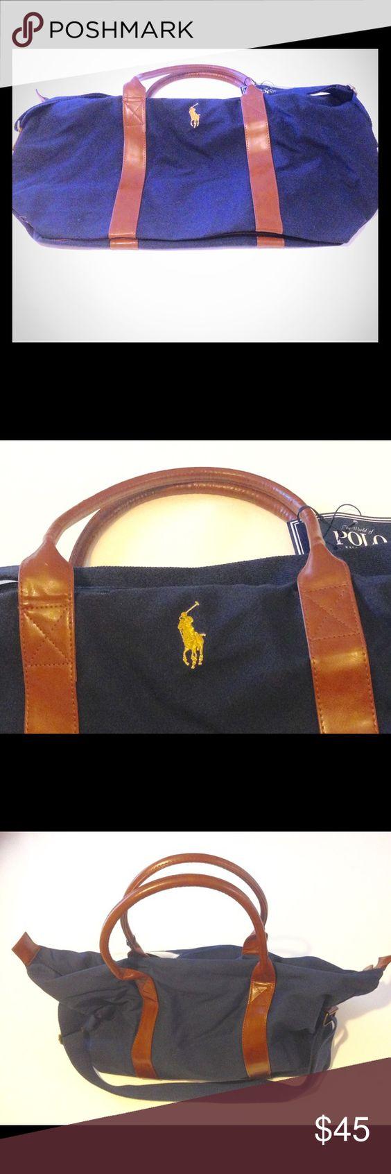 Ralph Lauren polo sport bag Brand new blue marine Polo by Ralph Lauren Bags Travel Bags