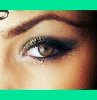 Green Smokey Eye | Nadja V.'s Photo | Beautylish