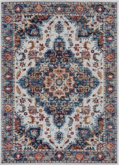 Blue And Copper Rug Freaking Awesome Farmhouse Rugs These Are My Favorite Neutral Family F Farmhouse Rugs Farmhouse Rugs Living Room Modern Rugs Living Room