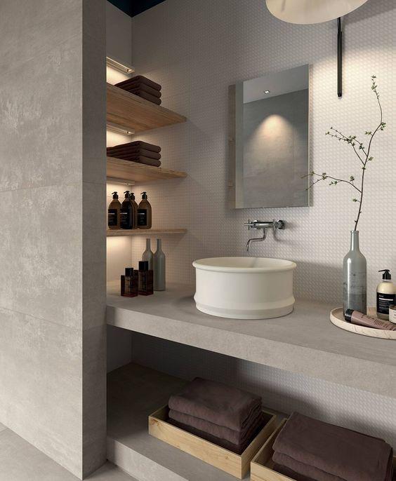 Altholz-Braun, Grau und Edelstahl - so geht einrichten - grau braun einrichten penthouse