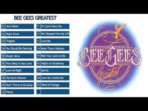 Bee Gees Bee Gees Greatest Full Album 1979 Youtube Bee Gees Broken Heart Lyrics You Should Be Dancing