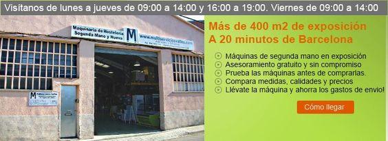 Maquinaria de Hosteleria Multiservicios Valles - Maquinaria de hosteleria de segunda mano y nueva: