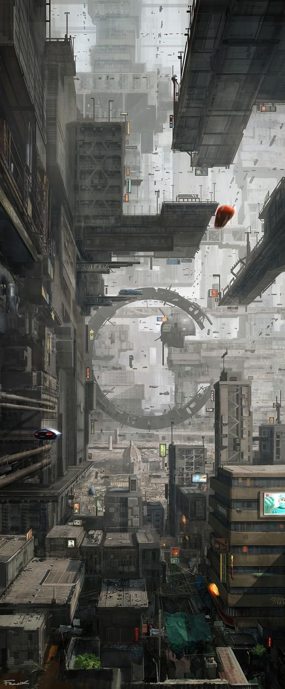 Firenze in the future , Francesco Lorenzetti on ArtStation at…