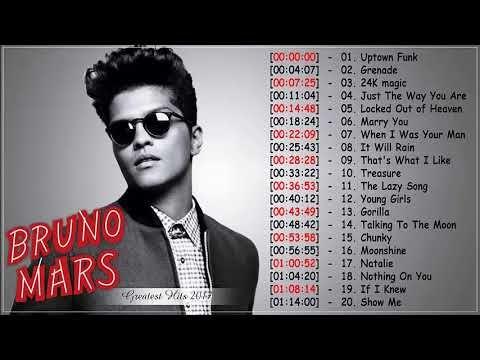 Bruno Mars Best Of Playlist New Songs 2017 Bruno Mars Greatest Hits Bruno Mars Pop Love Songs Youtube Throwback Songs Christina Aguilera Uptown Funk