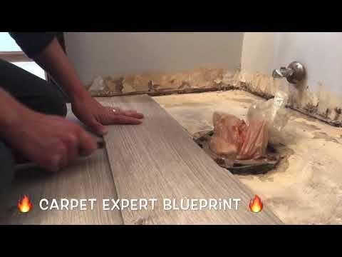 Install Vinyl Plank Floor Around Toilet Youtube In 2020 Vinyl Plank Flooring Vinyl Plank Flooring Bathroom Vinyl Plank