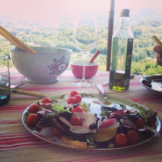 Salade estivale en Provence