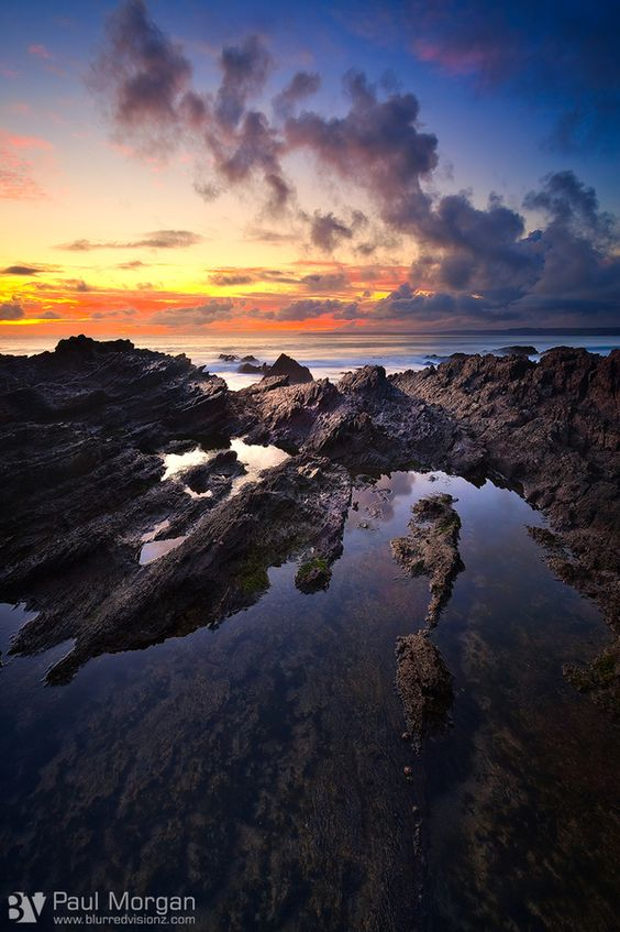 Tide pool - Cornwall, UK: Photography Travel, Inspiration, Pool Cornwall, Tide Pools, Rock Pooling